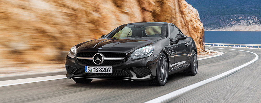 New slc roadster offers for Mercedes benz new car deals