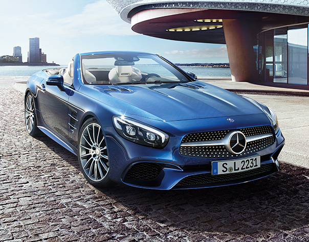 Cabriolets & Roadsters - Convertible Cars - Mercedes-Benz