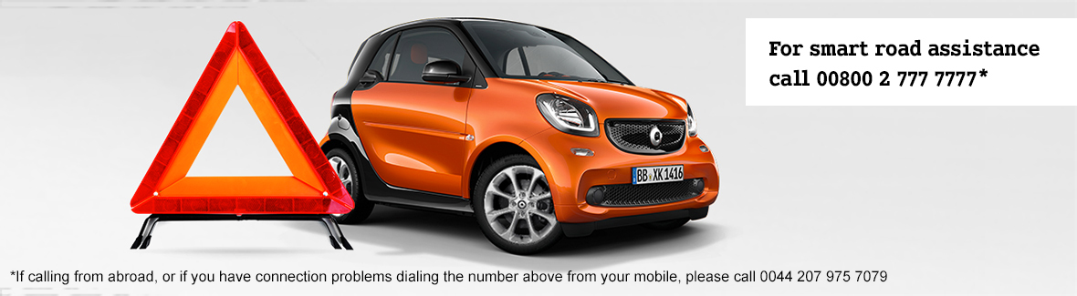 Smart road assistance to keep your smart moving smart for Mercedes benz road side assistance